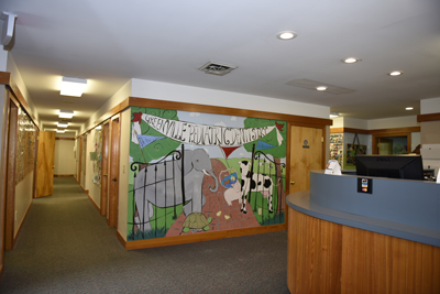 Front Office at Greenville Pediatric Dentistry in Greenville, Simpsonville, Easley and Taylors